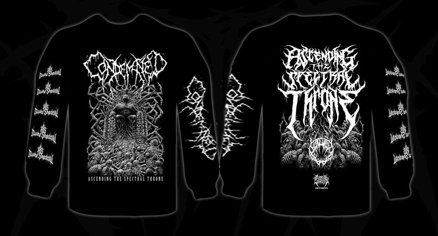 CONDEMNED Ascending The Spectral Throne Shirt LS