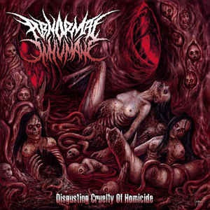 Abnormal Inhumane ‎– Disgusting Cruelty Of Homicide CD