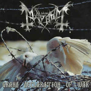 Mayhem ‎– Grand Declaration Of War CD
