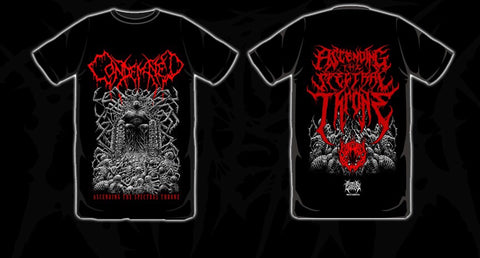 CONDEMNED Ascending The Spectral Throne Shirt TS RED