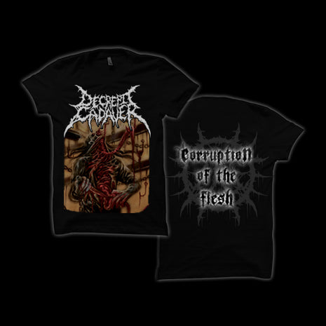 DECREPIT CADAVER  Corruption Of The Flesh TS - PRE ORDER