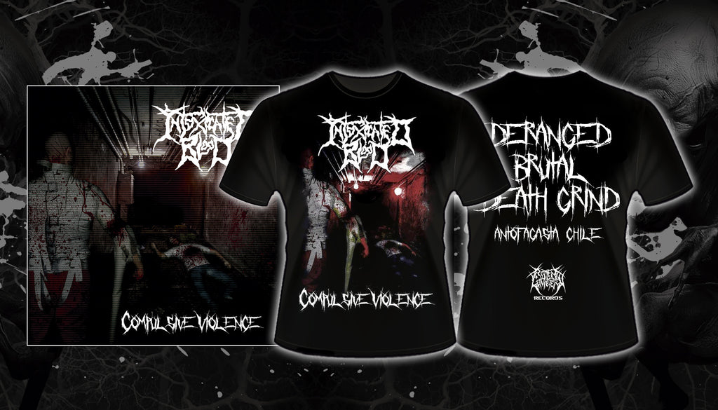 INTOXICATED BLOOD - Compulsive Violence SHIRT/CD PACK