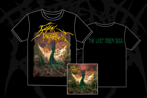 Severe Punishment - The Last Green Soul CD + TS PACK