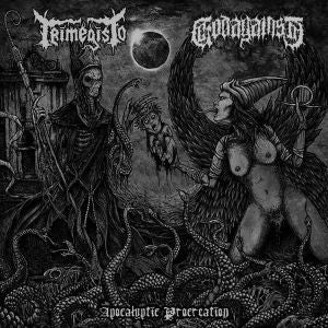 TRIMEGISTO / GODAGAINST | Apocalyptic Procreation VINYL 12'