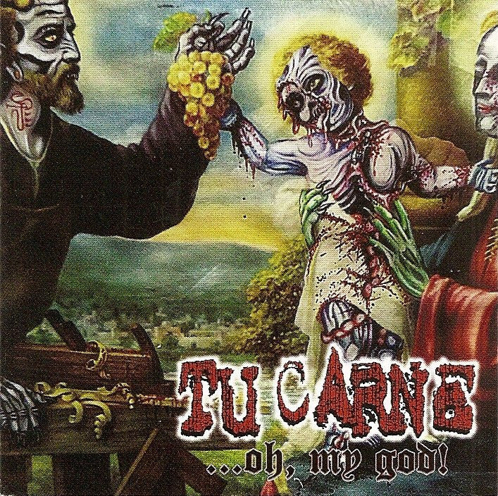 TU CARNE | CANNIBE - Split CD