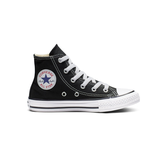 3J231 Chuck Taylor All Star Junior High Top Black by Converse