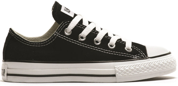 3J235 Chuck Taylor All Star Junior Low Top Black by Converse