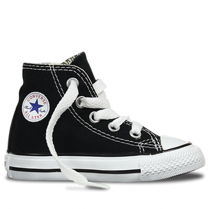 7J231 Chuck Taylor All Star Junior High Top Black by Converse