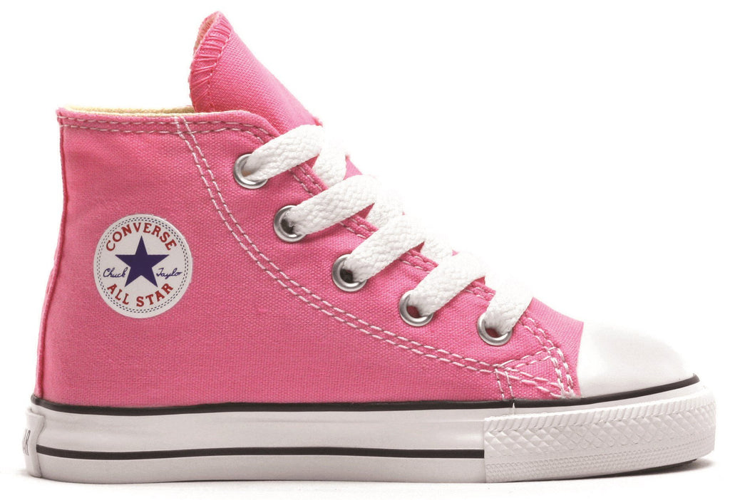 7J234 Chuck Taylor All Star Junior High Top Pink by Converse
