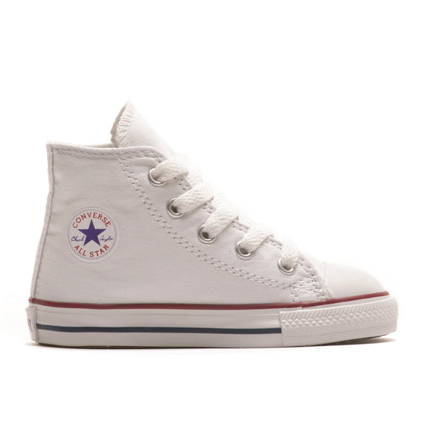 7J253 Chuck Taylor All Star Junior High Top White by Converse