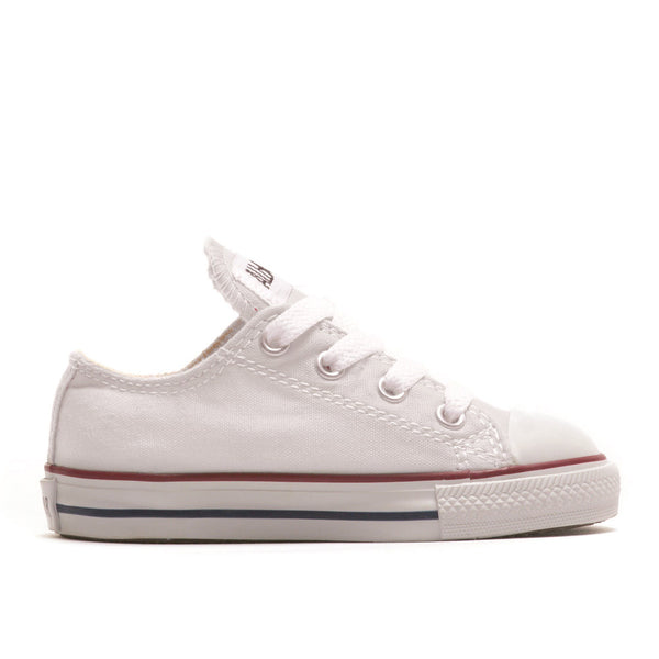 7J256 Chuck Taylor All Star Junior Low Top White by Converse