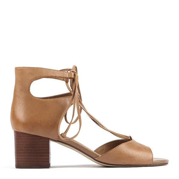 ALCOTT BLOCK HEEL LACE UP by Diana Ferrari