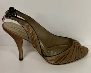 KATE SATIN SLING BACK BY DIANA FERRARI SIZE 10