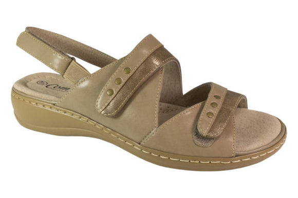 NOBLE TRIPLE VELCRO SANDAL