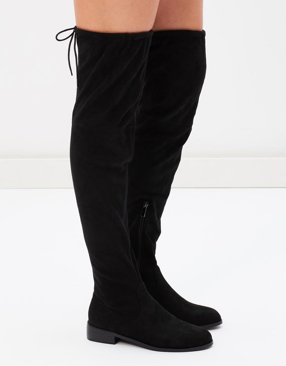SANDIAGO SUEDE OVER KNEE BOOT