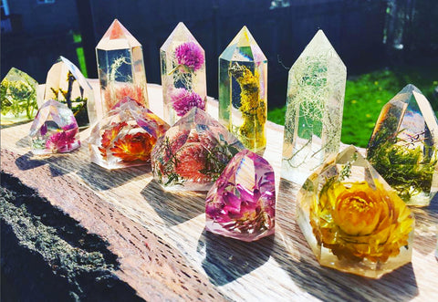 Forest and Flora Crystals