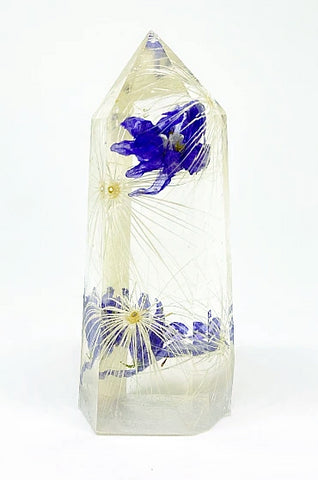 Delphinium Wishes Flora Crystal - Large
