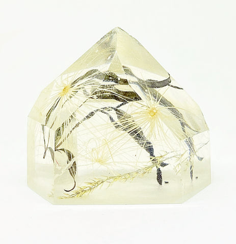 Wishes & Black Flora Crystal - Medium