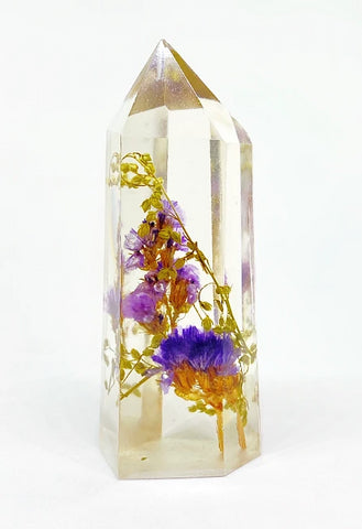 Purple Flora Crystal - Large