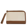 POUCH BRUNO LONA NATURAL CAMEL
