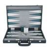 BACKGAMMON DE MESA 54X36 LIZARD FUMO / INT HUESO-TEAL