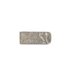 MONEY CLIP REDONDO LIZARD GRIS C/H