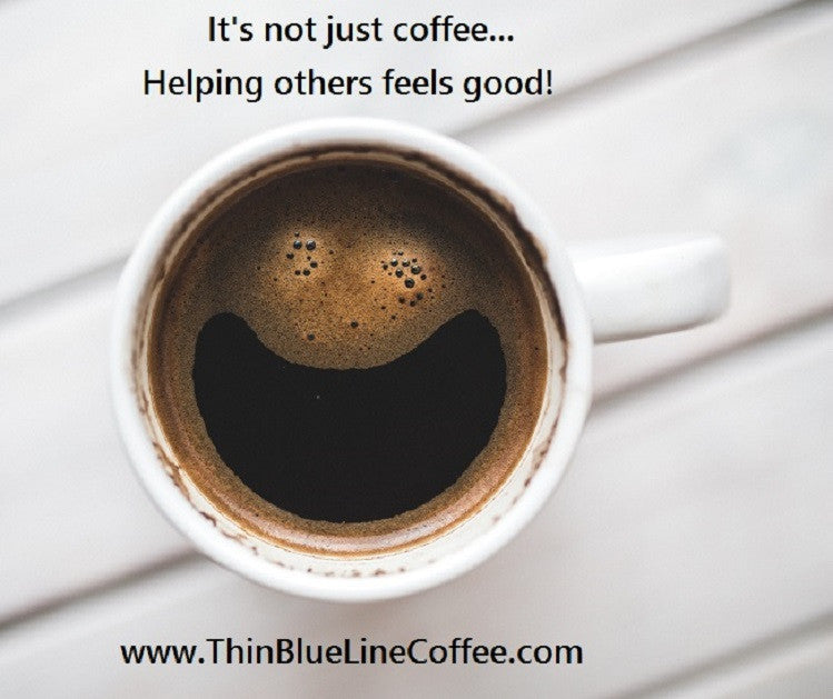 Coffee with a purpose - good feeling