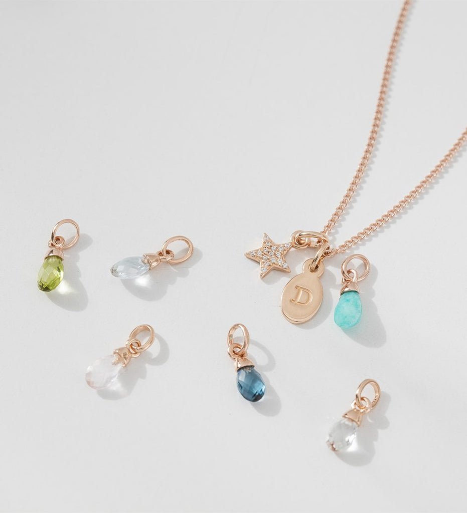 AMAZONITE GEMSTONE (18K-ROSE GOLD-VERMEIL) Image 04