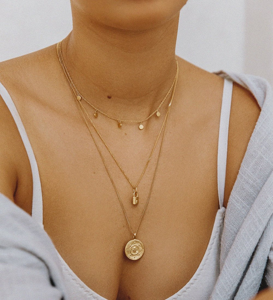 HAMSA PROTECTION COIN (18K-ROSE GOLD-VERMEIL)
