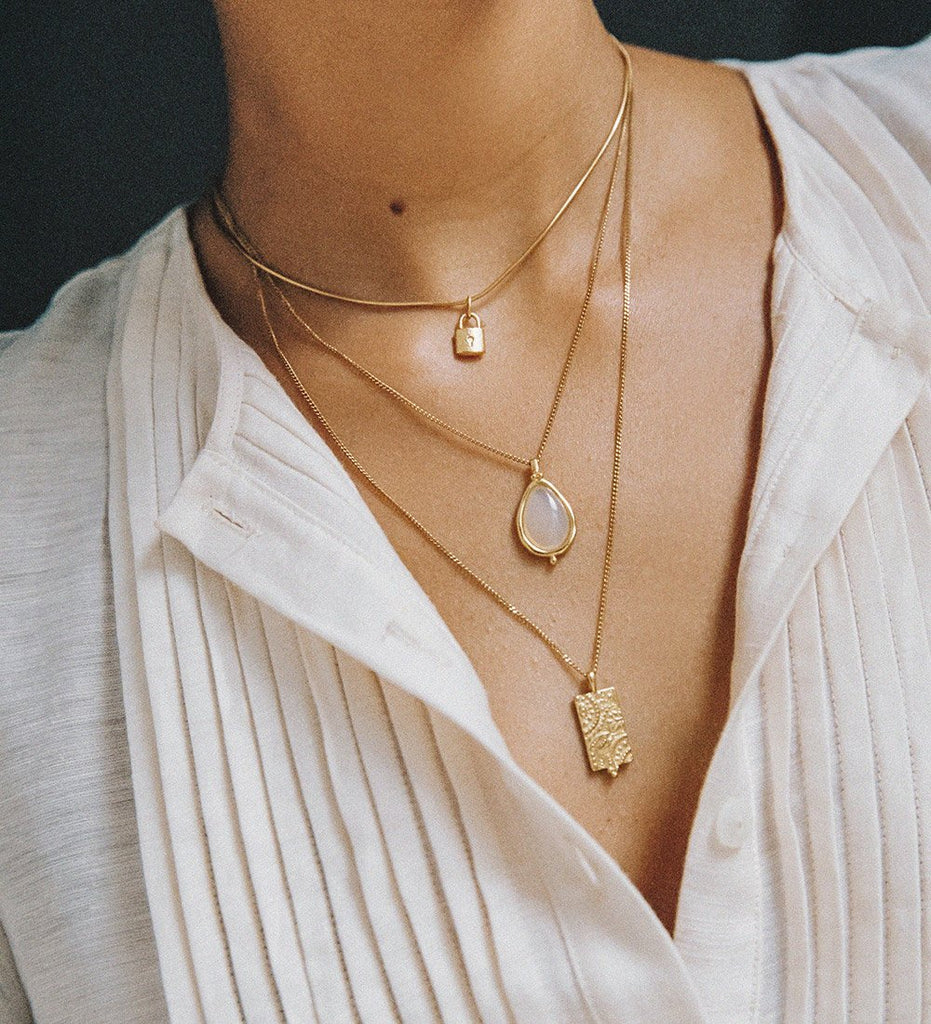 MARRAKECH COIN NECKLACE (18K-GOLD-VERMEIL)