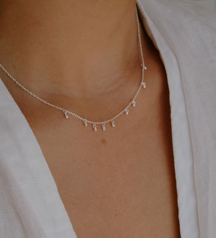 SEA MIST NECKLACE (STERLING SILVER)