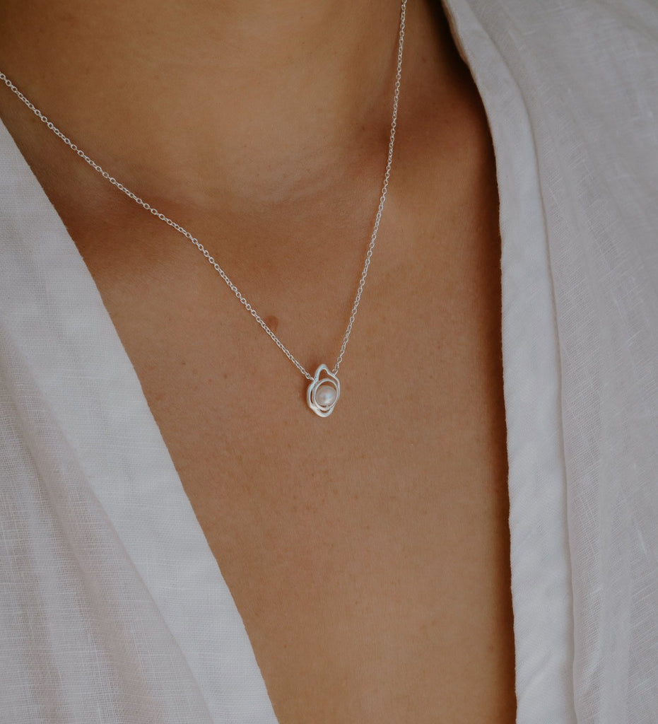 EBB AND FLOW NECKLACE (STERLING SILVER)