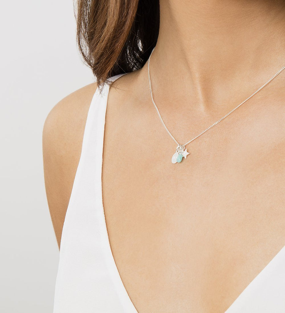 AMAZONITE GEMSTONE (18K-ROSE GOLD-VERMEIL) Image 02