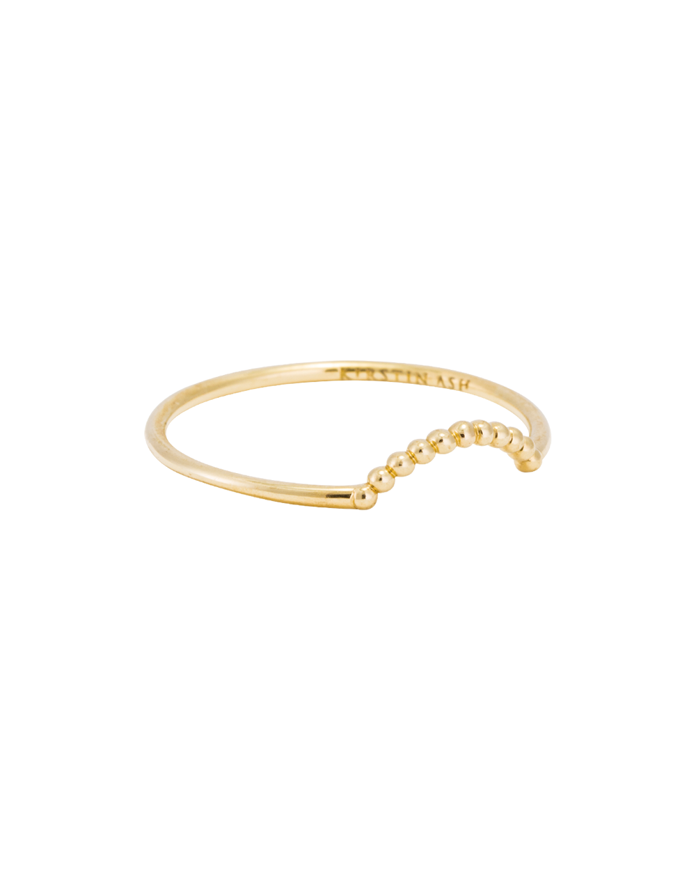 ARC RING (14K GOLD) Image 01