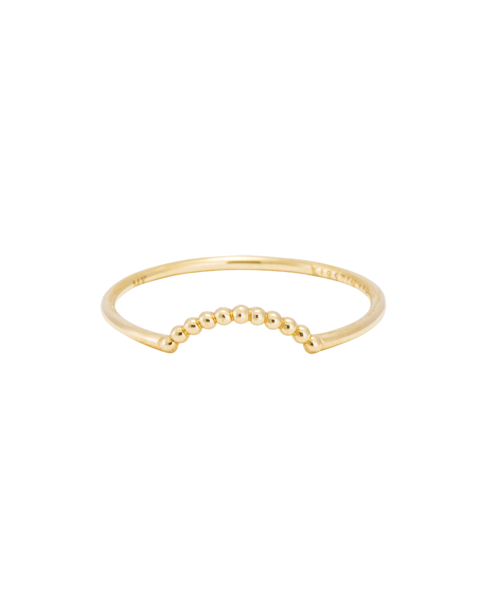 ARC RING (14K GOLD) Image 03