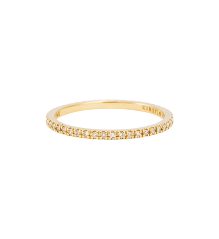 DIAMOND ETERNITY RING (14K GOLD) Image 01