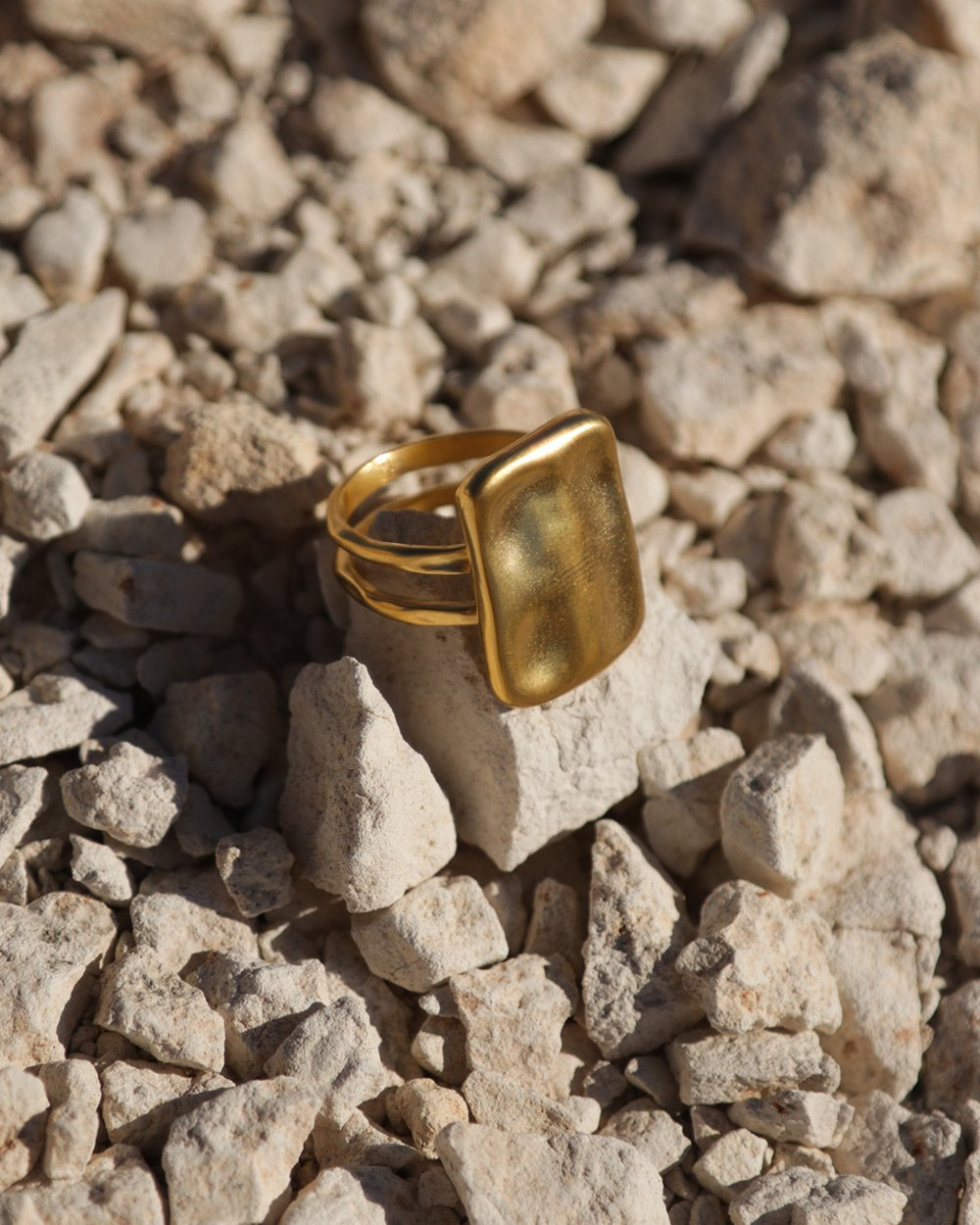 AWAKEN RING (18K-GOLD-PLATED)