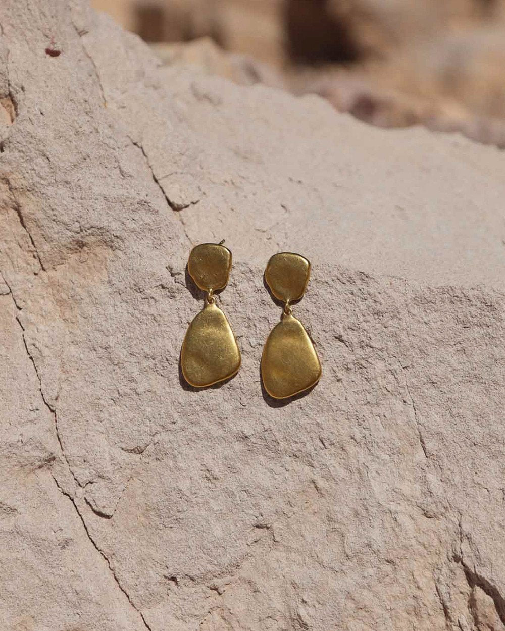 AWAKEN EARRINGS (18K-GOLD-PLATED)