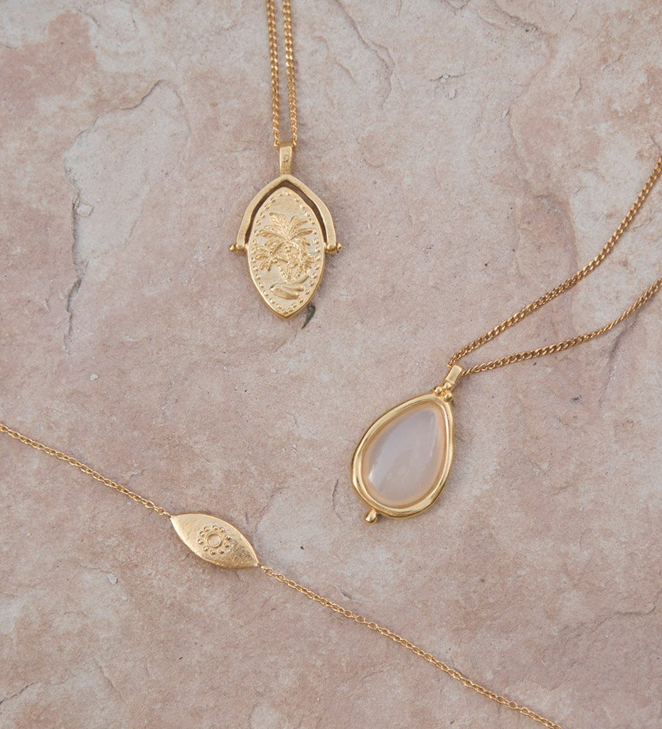 OASIS SPINNER NECKLACE (18K-GOLD-VERMEIL)