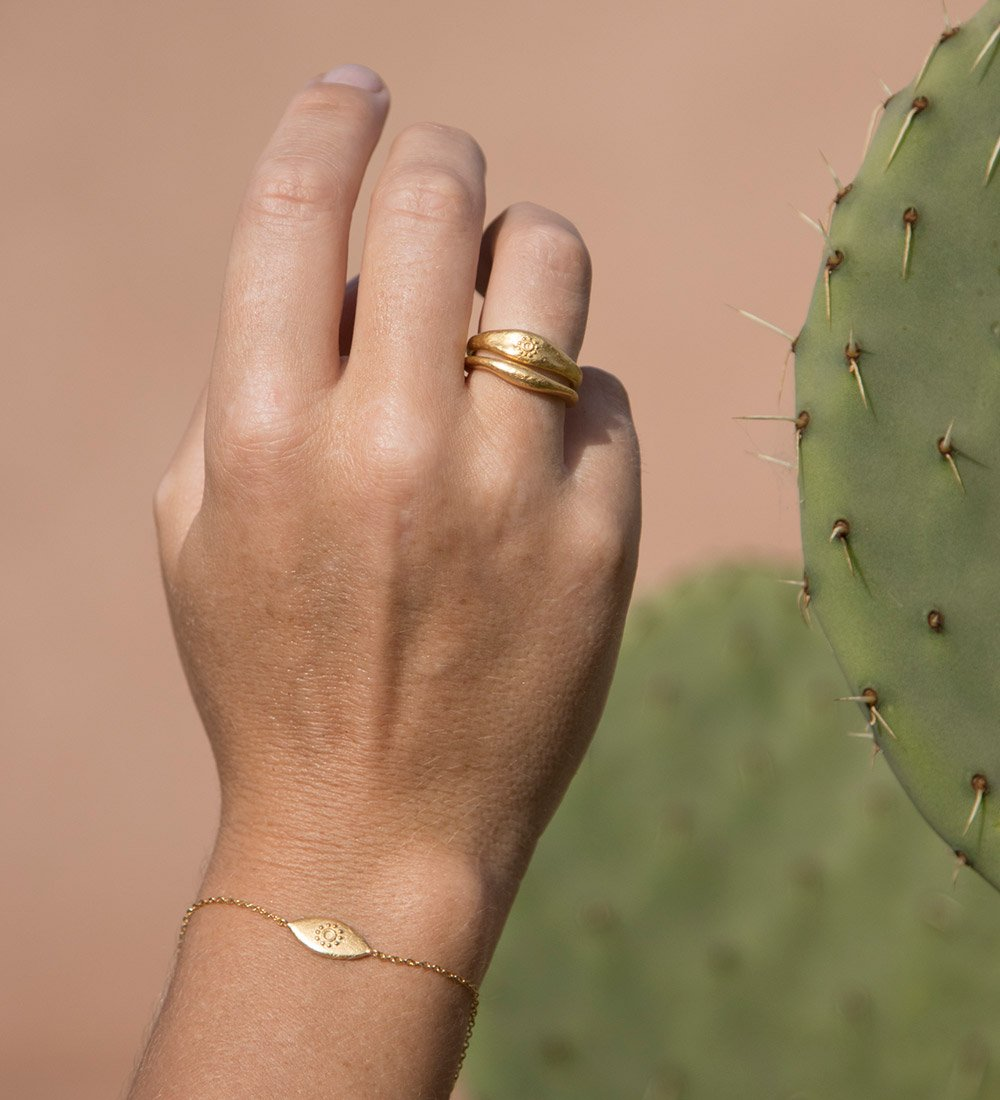 DESERT SUN RING (STERLING SILVER)