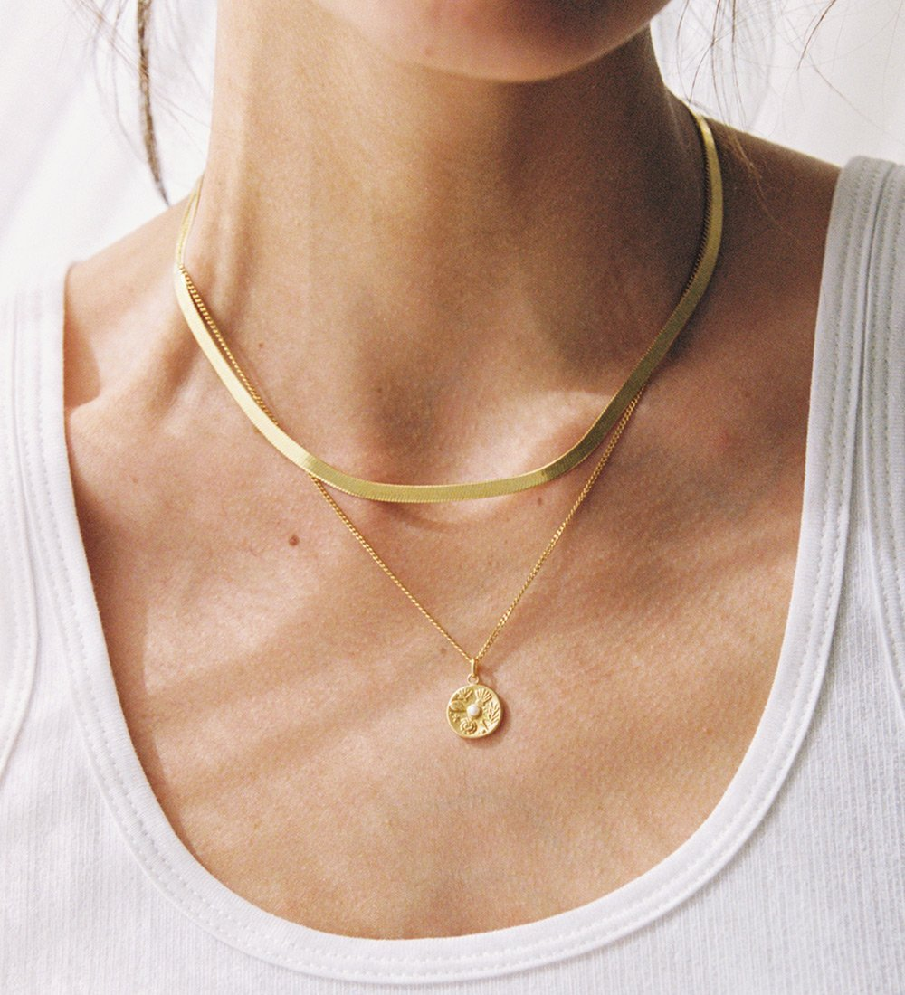 TINY BY THE SEA COIN (18K-GOLD-VERMEIL)