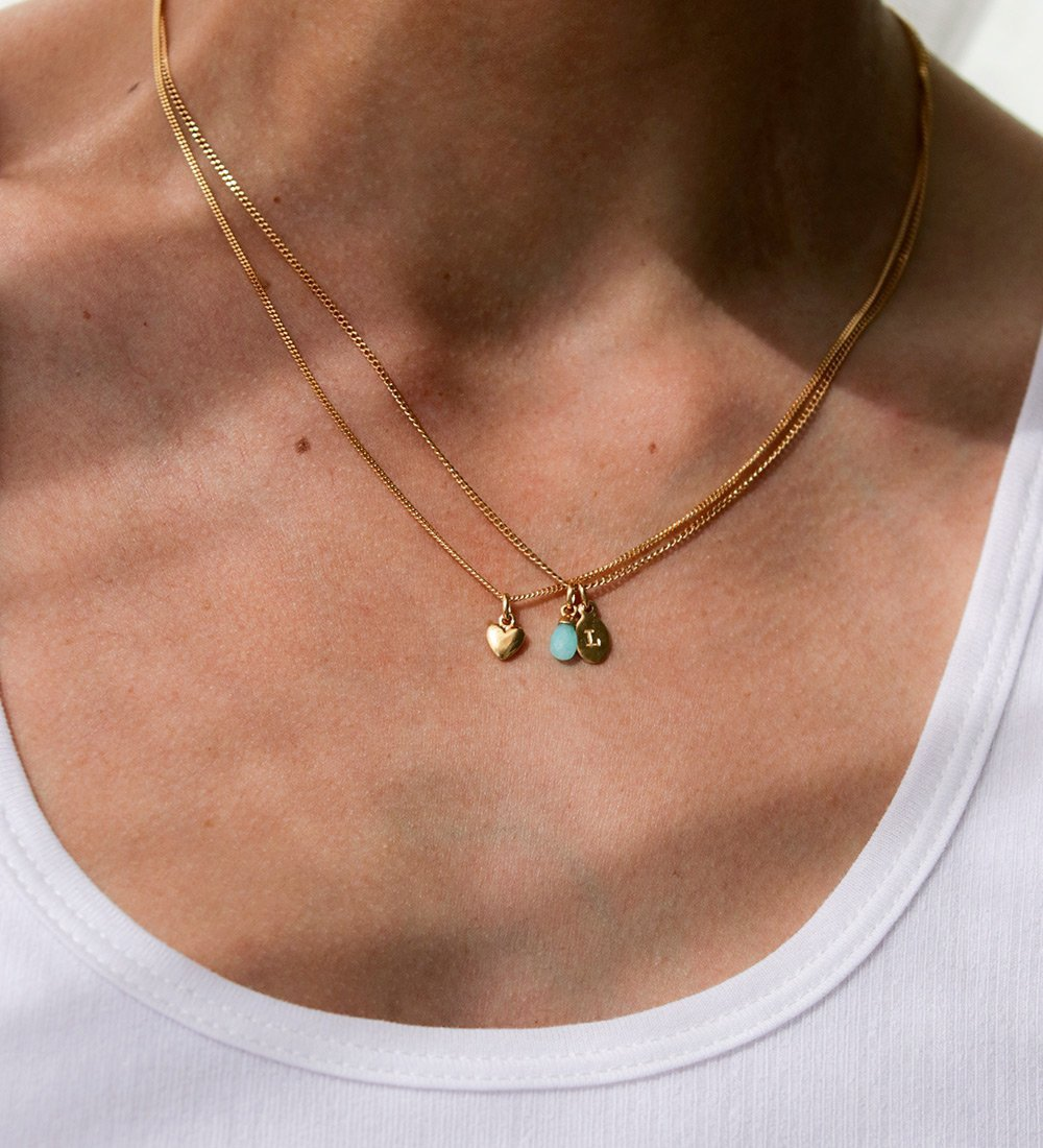 HEART CHARM (18K-ROSE GOLD-VERMEIL)