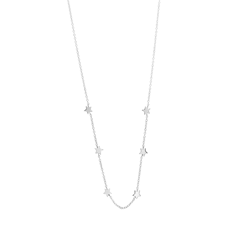 LITTLE STAR NECKLACE (STERLING SILVER)