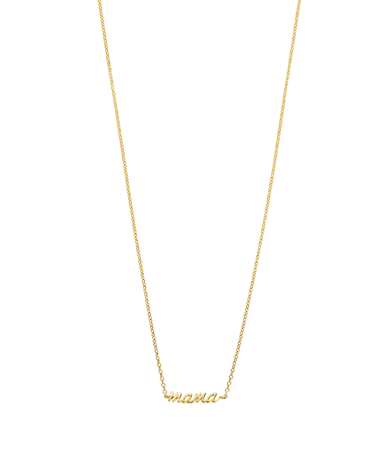 MAMA NECKLACE (18K-GOLD-PLATED) Image 01