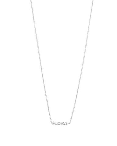 MAMA NECKLACE (STERLING-SILVER)