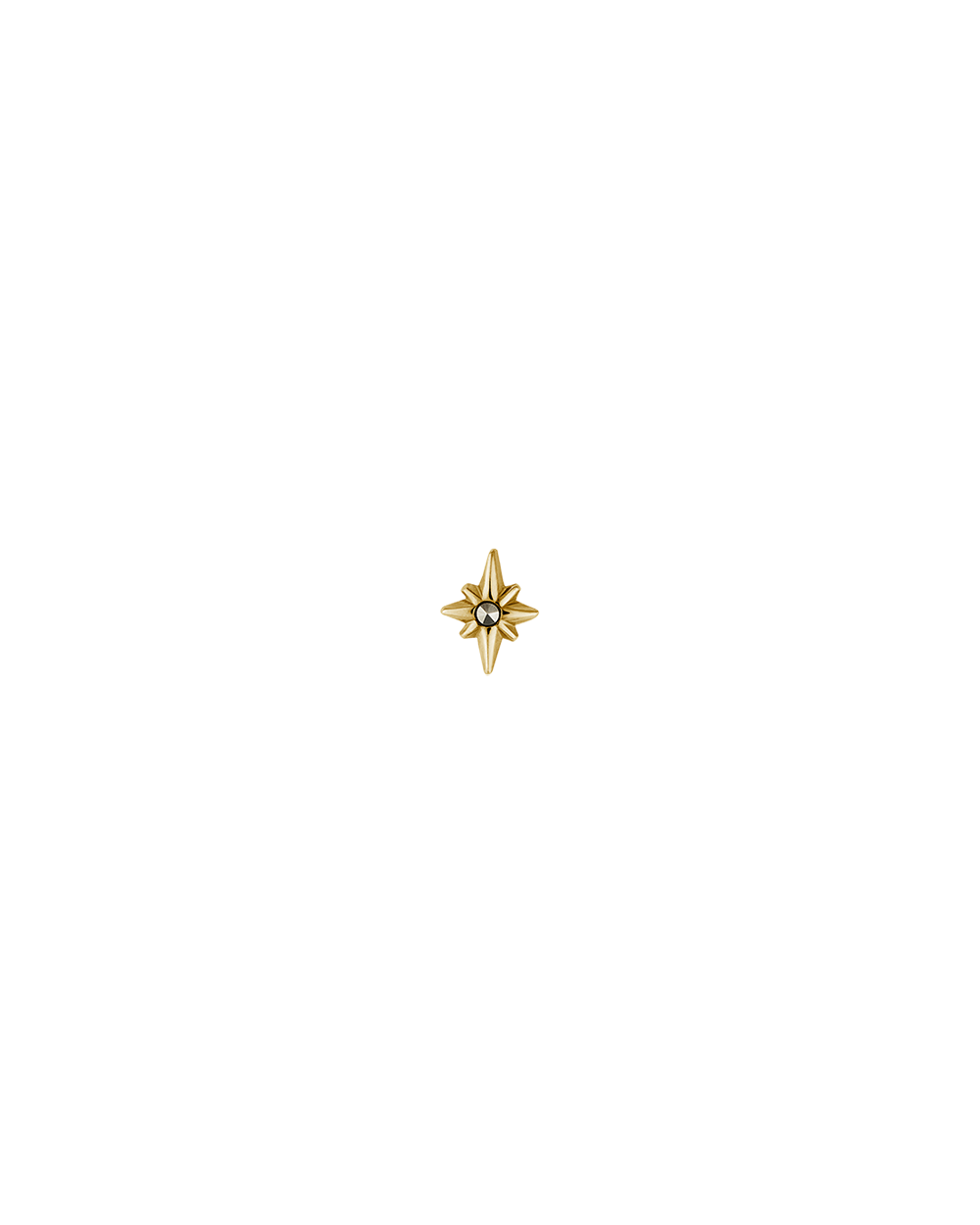 POINTED STAR STUDS (18K-GOLD-PLATED)