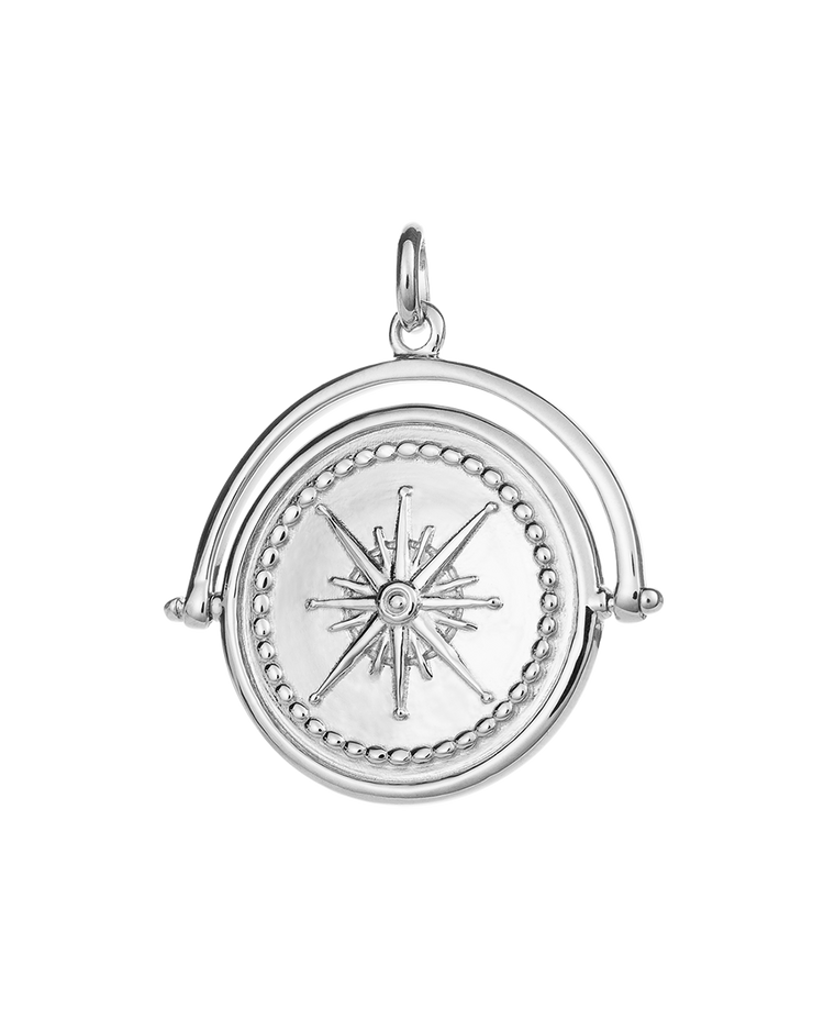 TRUE NORTH SPINNER (STERLING SILVER) - IMAGE 01
