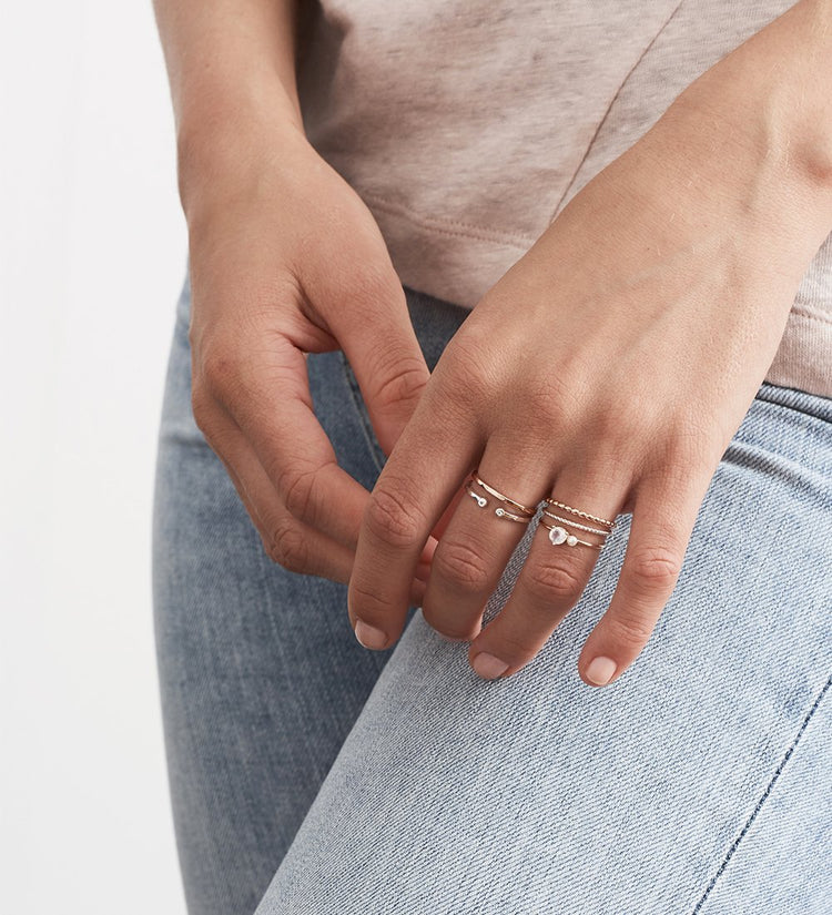 TWISTED RING (STERLING SILVER) Image 02