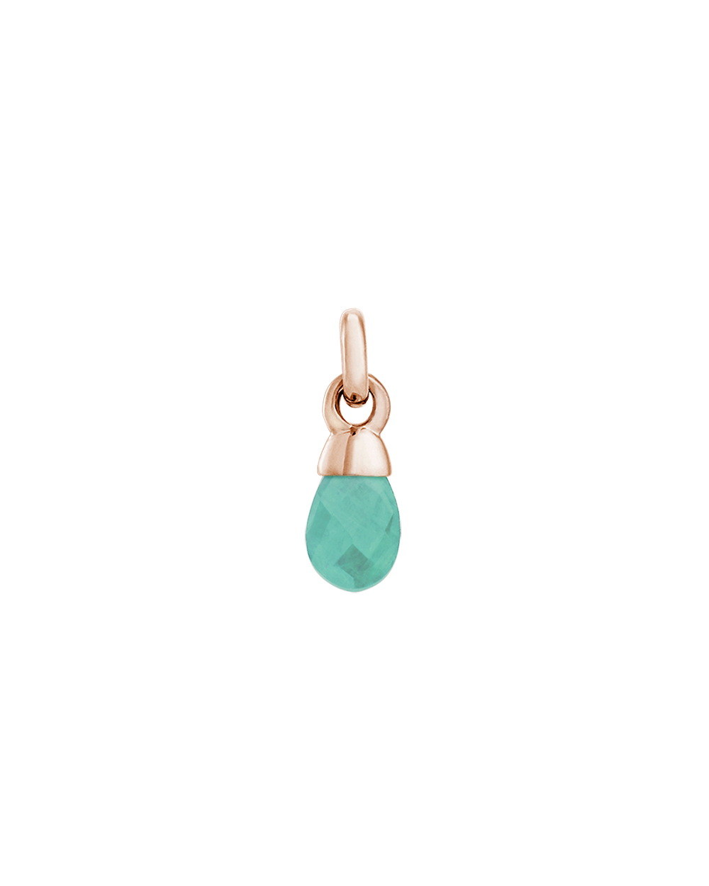 AMAZONITE GEMSTONE (18K-ROSE GOLD-VERMEIL)