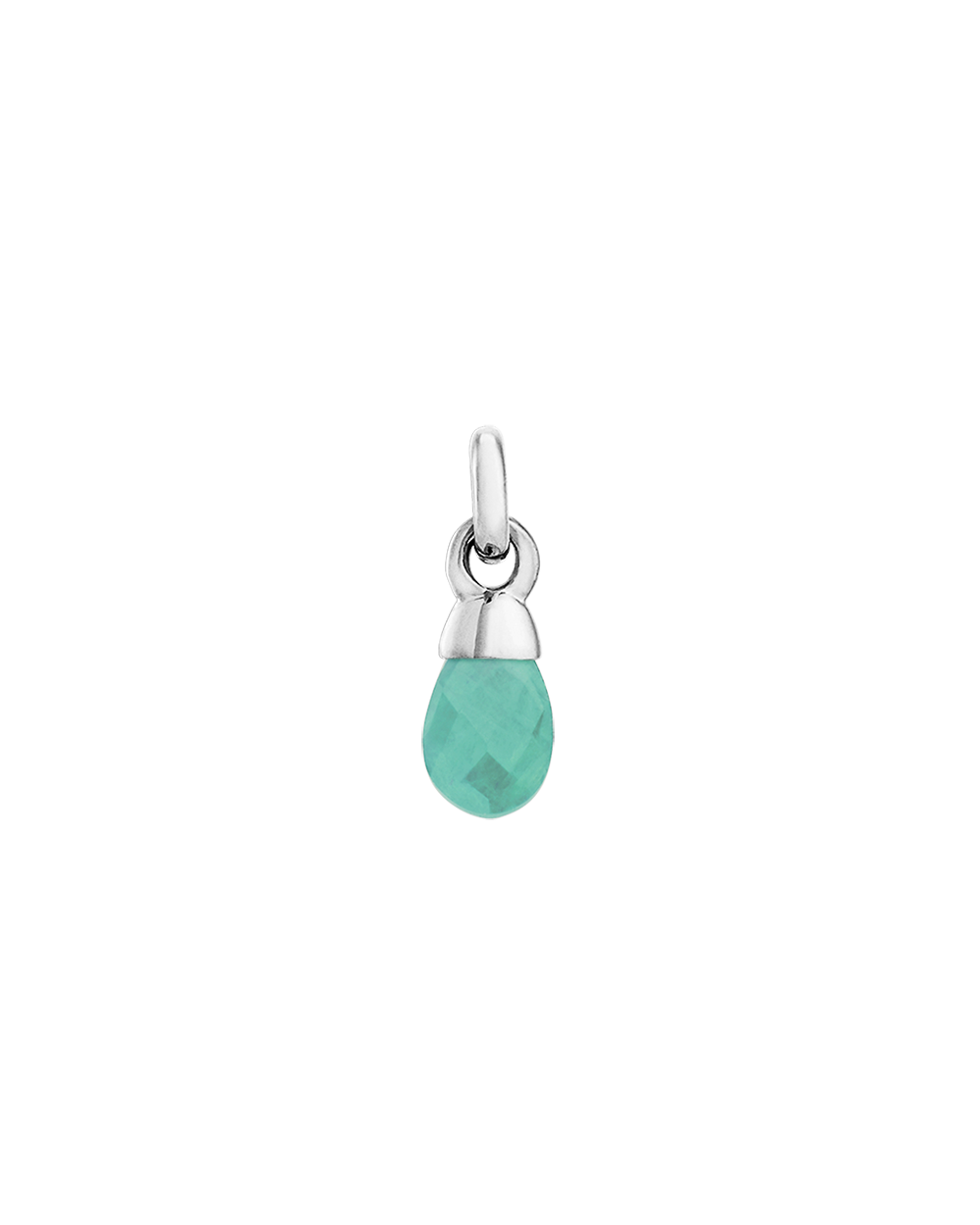 AMAZONITE GEMSTONE (STERLING SILVER)